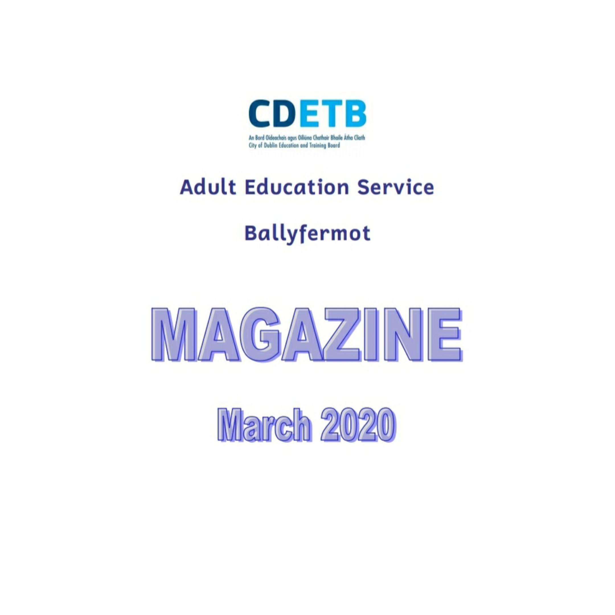 Ballyfermot Magazine March 2020
