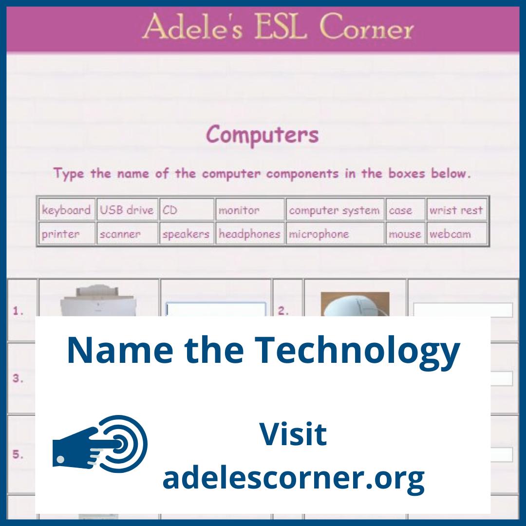 Adele's ESL Corner