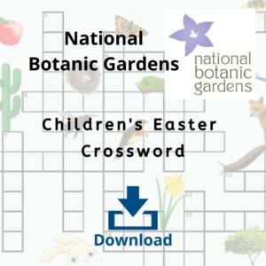 National Botanic Garden Easter Crossword