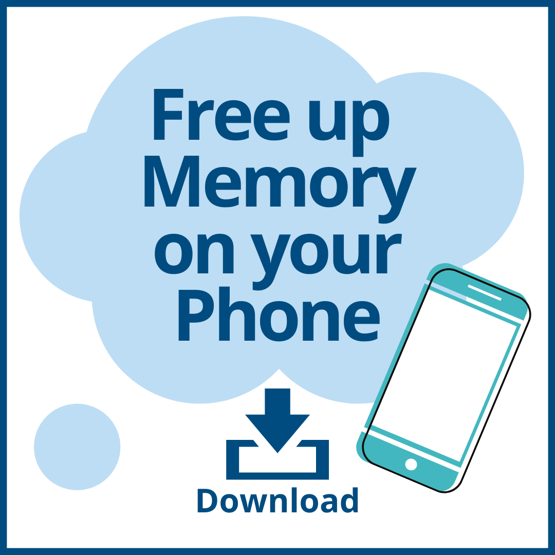 Freeing up memory on your phone