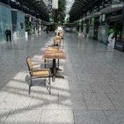 Empty foodcourt