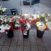 Bouquets of flowers