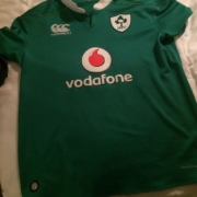 Ireland rugby jersey