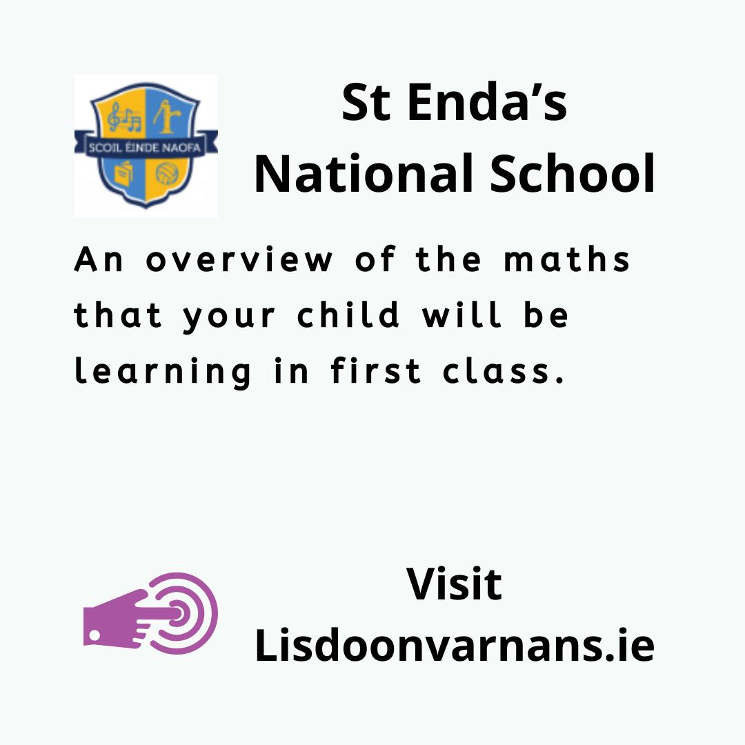 St Enda's National School First Class