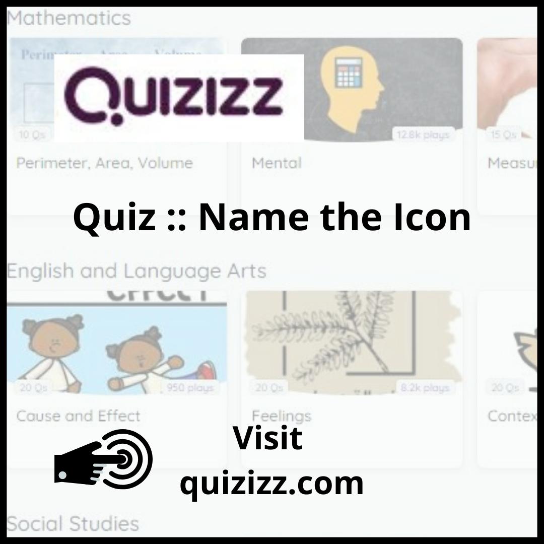 Word Icons Quiz