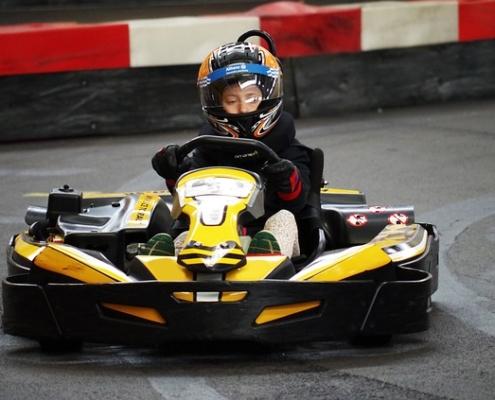 Indoor Kart Racing by Paul