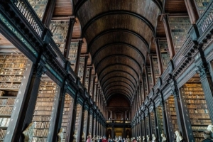 Trinity College by T.M.